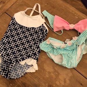 Other - Baby Girl Bathing Suits